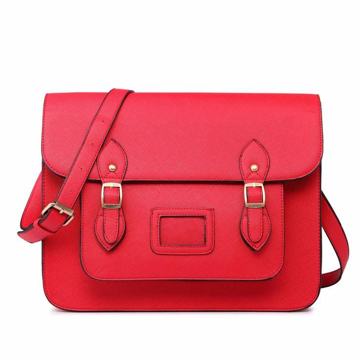 """Ретро классический Личи кожи 13 """"Британский женщины сумка неоновые цвета старинные посыльного мужские документы сумки купить на AliExpress"""