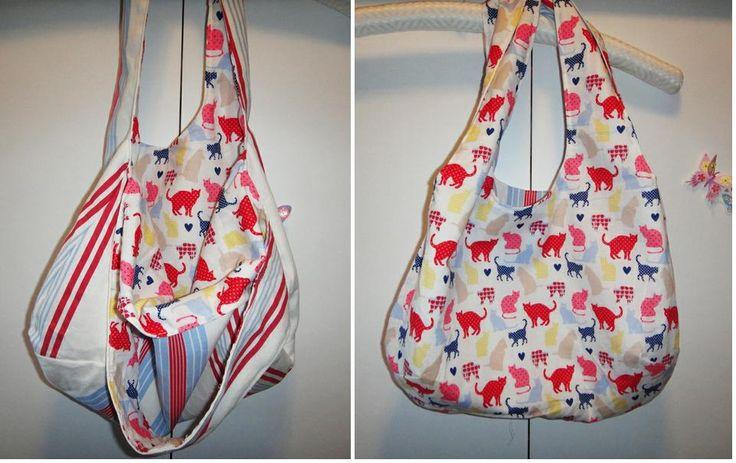 Tutoriales de costura: ¡hagamos un bolso reversible!
