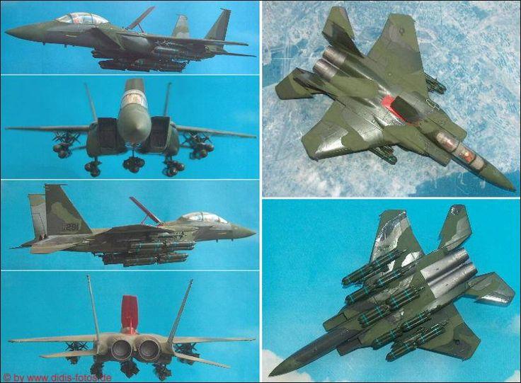 "MDD F-15E ""Strike Eagle"" (Hasegawa K-18) 1:72"