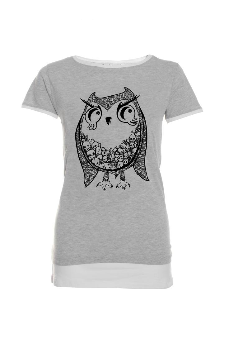 Owl T-shirt - Mama Feels Good