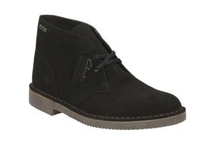 Clarks DesertBootGTX. - Zwart suède - Dameslaarzen Originals | Clarks