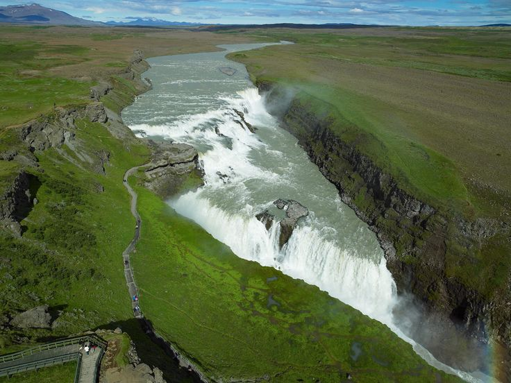Gullfoss Find more geography resources on Discover-Geography.com