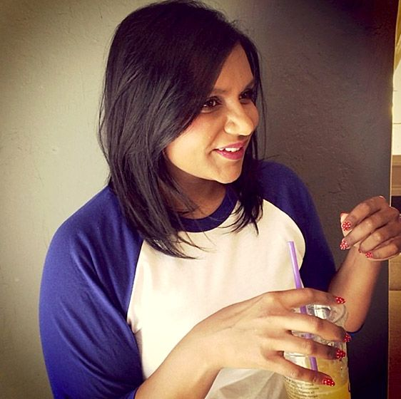 Mindy Kaling.. love her and her hair :)