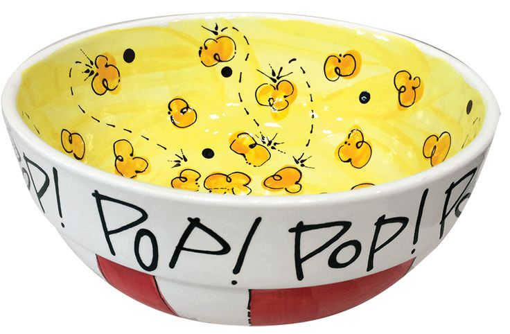 Step by step tutorial on how to make this adorable DIY POPcorn bowl