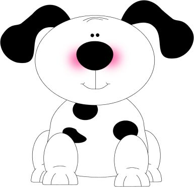 Spotted Dog Clip Art - Spotted Dog Image