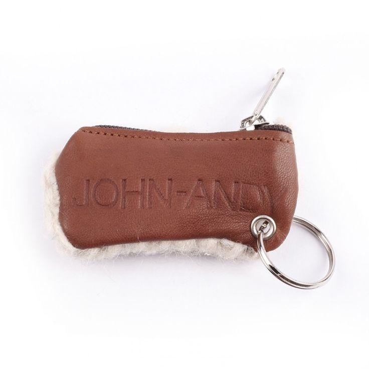 JOHN-ANDY Leather Keychain | John-Andy.com