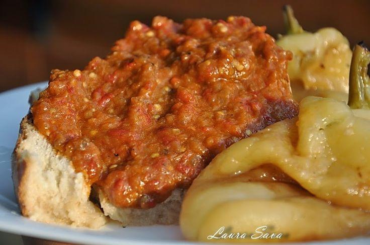 Zacusca de vinete | Retete culinare cu Laura Sava
