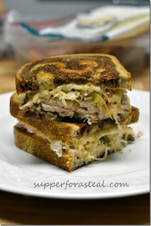 Turkey Reuben | SoUpS aNd sAmMiEs | Pinterest