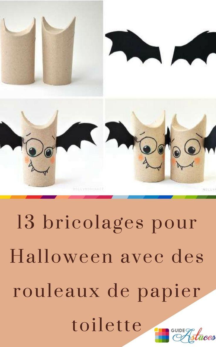 Les 25 Meilleures Id Es De La Cat Gorie Chauve Souris Halloween Avec Rouleau Papier Toilette Sur