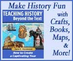 Teaching History by making it fun! This book helps teachers to create activities that are fun and will help their students remember the facts learned. I would use it to help teach the kids fun colonial games.