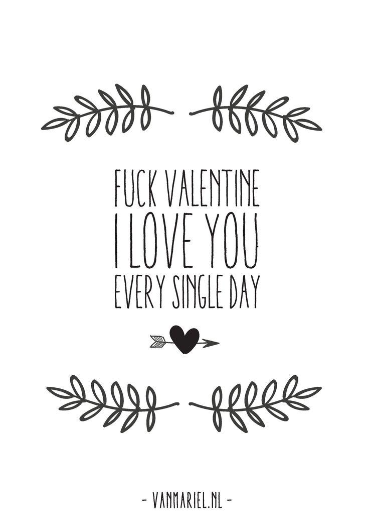 #Freeprintable #valentine - #love - Made by www.vanmariel.nl