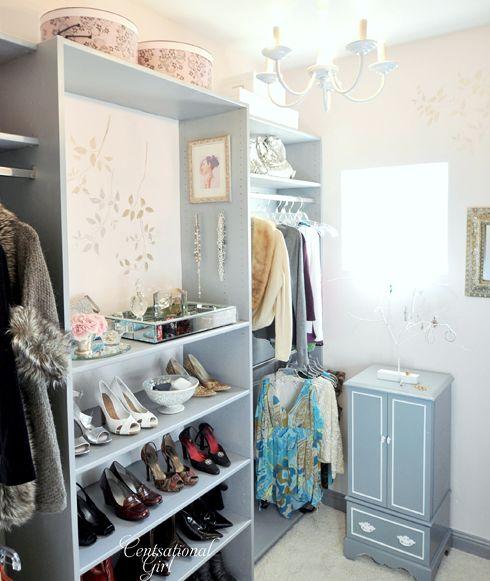 Closet, poner espejo en la parte de arriba de las joyas
