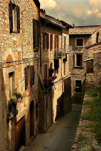 Todi, Italy.