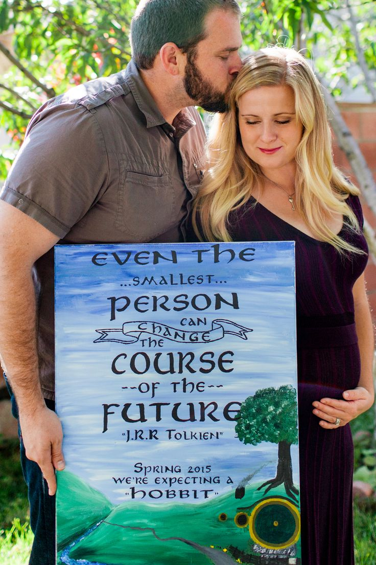 Hobbit Lord of the Rings Inspired Pregnancy Announcement Watch – Baby Announcement Videos