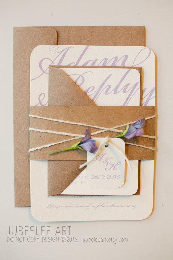 22 best Wedding Invitation Inspiration images on Pinterest ...