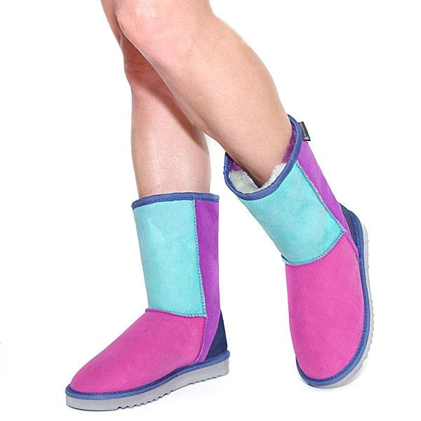 Classic Short Patchwork Ugg Boots - Jewel  http://www.uggbootsmadeinaustralia.com.au/Classic-Short-Patchwork-Ugg-Boots-Jewel.aspx  Jewel classic patchwork ugg boots are made from genuine Australian sheepskin, which is arranged in different color sections to create a stylish patchwork look.