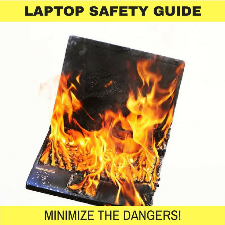 Your laptop may appear to be harmless, however if used incorrectly it could seriously injure you. Here are some of the precautions you should consider before using your laptop.