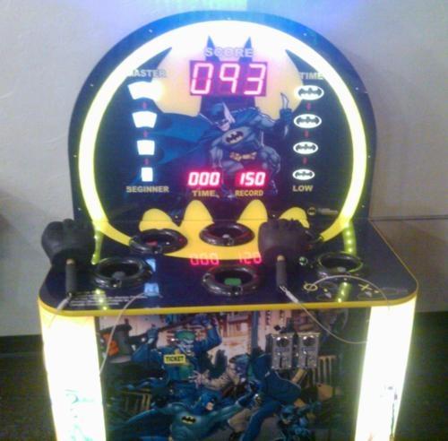 Mini Vending Machine >> Batman Whack a Mole Game with Adam West and Burt Ward's ...