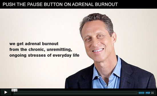 If you have chronic, unremitting stress, your adrenal glands—which help you deal with stress—get beat up. Share your experiences, struggles, successes, or questions.