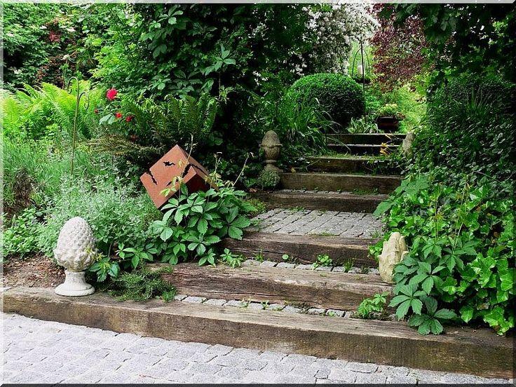 Fagerenda kerti lépcső - Áldór kft kerti fa termékek