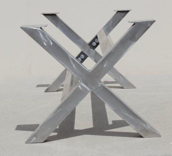 Fabricated Steel Coffee Table: 15 Must-see Metal Table Legs Pins