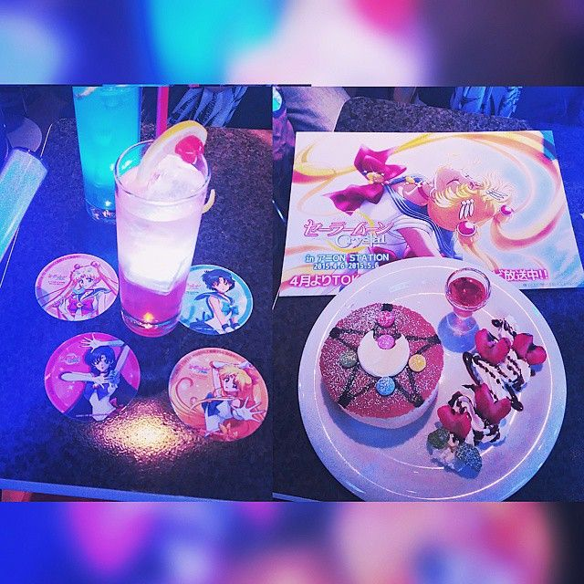28 years old....still a kid at ❤  Sailor Moon Cafe #tokyo #sailormoon #birthday