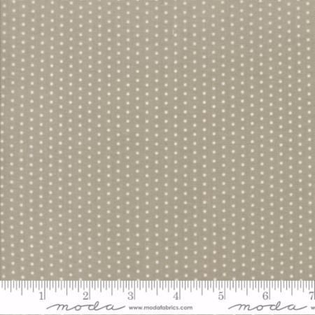 49008-15 Darling Little Dickens Pin Dot Grey & Toast