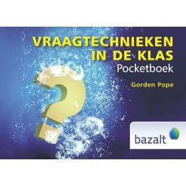 Pocketboek Vraagtechnieken in de klas - Gordon Pope