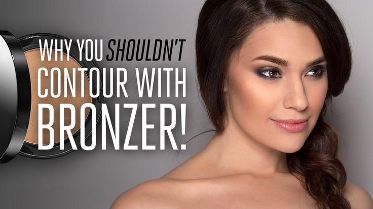Why you shouldnt contour with bronzer! Jordan Liberty Makeup Tutorial Model Nikki Rose