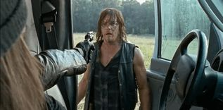 Pin for Later: 14 Feelings You Had When You Finally Met Jesus on The Walking Dead When He Saves Daryl's Life and You Wanted to Reward Him ;)