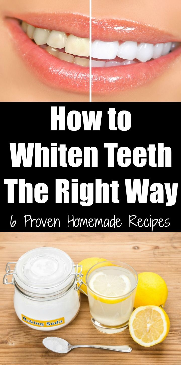 How To Whiten Teeth The Right Way 6 Proven Homemade Recipes