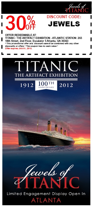 Titanic coupons
