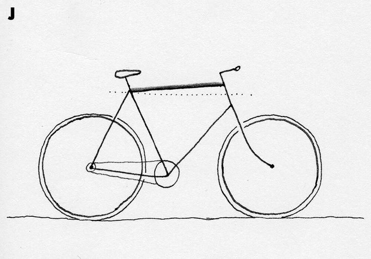 картинки велосипедиста карандашом поэтапно время поклонники