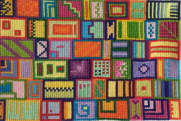 Punto cruz geométricos cross stitch