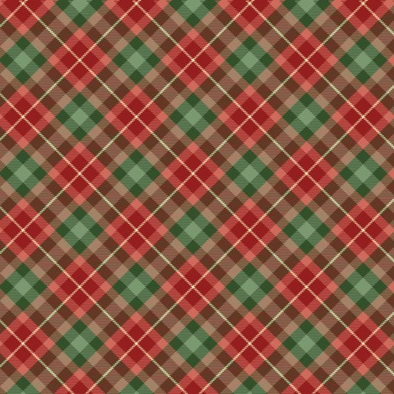 Christmas Plaid.Plaid Other Christmas Digital Papers Scrapbooking Card