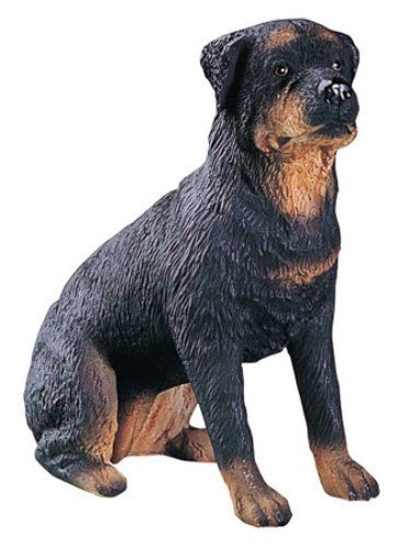 cake topper rottweiler dog collectible figure h 3 5. Black Bedroom Furniture Sets. Home Design Ideas