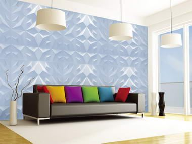 3D  Wall Panels <3 the overall colors used here