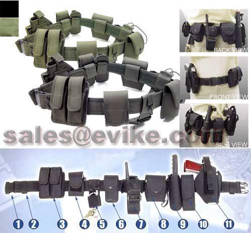 UTG Law Enforcement Tactical Duty Belt / Pouch Set - Black ...