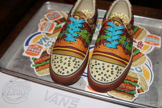 Vans Cheeseburgers