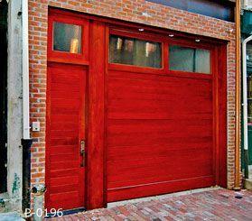Charmant Custom Garage Doors With Matching Walk Thru Doors