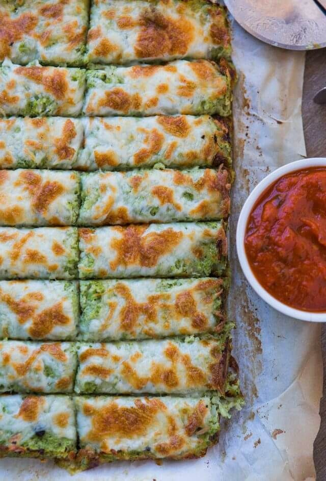 Broccoli Cauliflower Cheese Sticks recipe