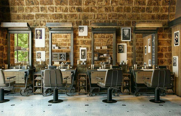 Outrodia vi que abriram aqui em Joinville uma barbearia charmosa e vintage, e quando vi estas imagens não resisti.   Não é uma verdadeira ...