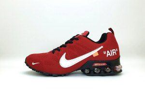 separation shoes 57836 82bd4 ... ireland mens nike air shox off white bright red black total orange  running shoes 30770 9e0ff