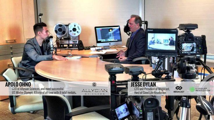 Apolo Ohno Reveals His New Brand - Allysian Sciences