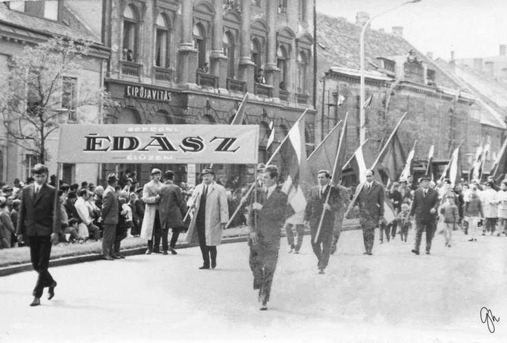 Soproni múlt: Azok a régi majálisok!