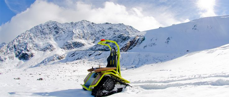 Now that winter is fast approaching us, some fun in the snow might be in order. But to get to some off the grid places, a different mode of transportation might be needed. Which in case the Ziesel offroading chair might be the answer.