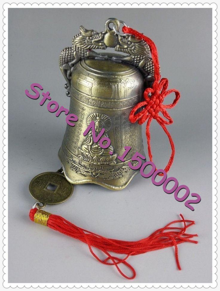 Новогоднее украшение бесплатная доставка домашнего декора коллекционирование китайский тибетский буддизм храм медные колокольчики статуи домашнего декора