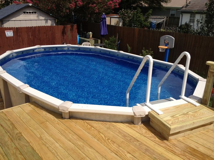 190 best images about pool decks on pinterest above for Above ground pool installation