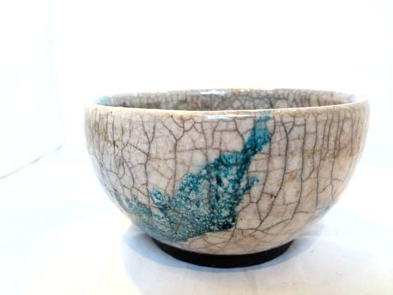 Check out this item in my Etsy shop https://www.etsy.com/listing/569930848/raku-pottery-bowl