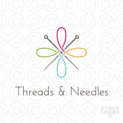 tailor logo, sewing logo, threads logo, needles logo, stocklogos, stitching…
